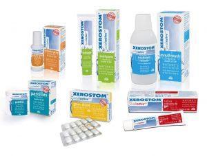 Celovita linija izdelkov za suha usta XEROSTOM