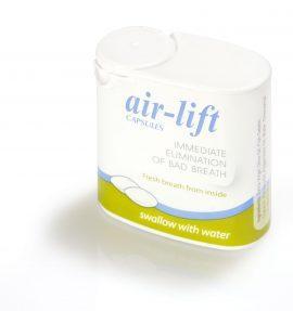 Air-Lift kapsule proti zadahu