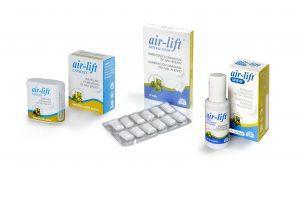 Air-lift izdelki proti slabemu zadahu iz ust in želodca
