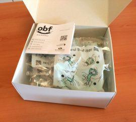 OBF ustna držala s sesalcem - set 40 kosov